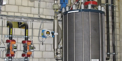 Sulfuric acid dilution system