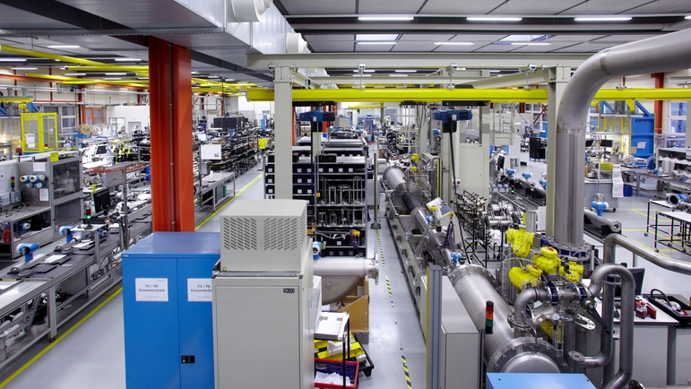 Endress+Hauser Flow à Reinach, Suisse, production