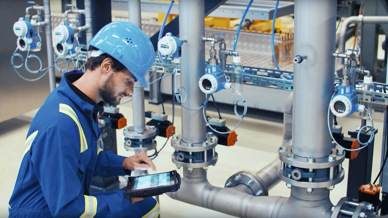 Endress+Hauser is een van de oprichters van de Open Industry 4.0 Alliance.