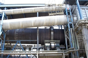 Pyroprocessing in a cement plant